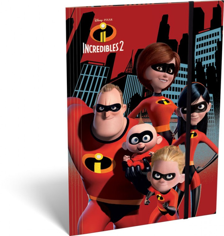Gumis mappa A/4, The Incredibles 2, Family