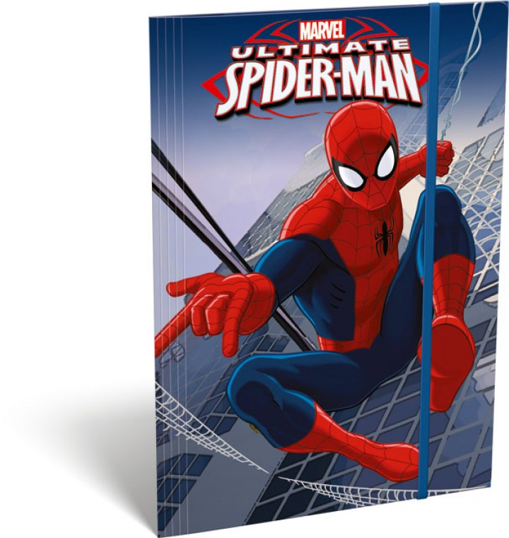 Gumis mappa A5, Ultimate Spider-Man, City
