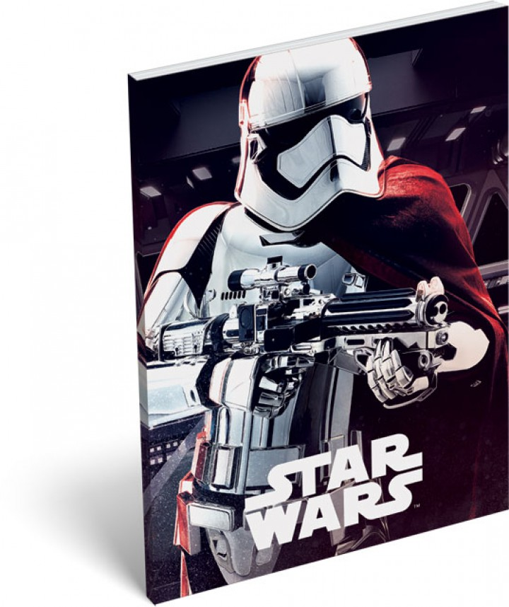 Notesz papírfedeles A/7, Star Wars 8, Phasma