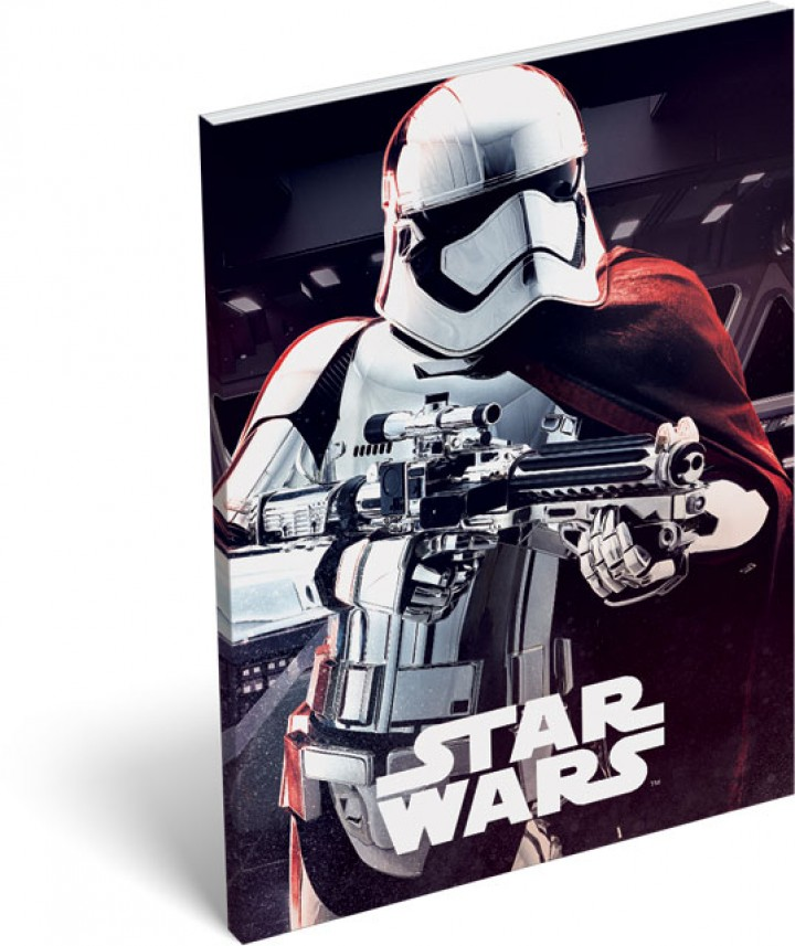 Papírfedeles notesz A6, Star Wars 8, Phasma