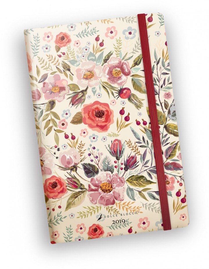 Secret Planner, Dolce Blocco, Country Flowers