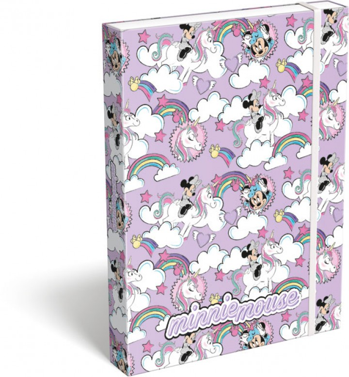 Füzetbox A/4, Minnie Mouse, Unicorn
