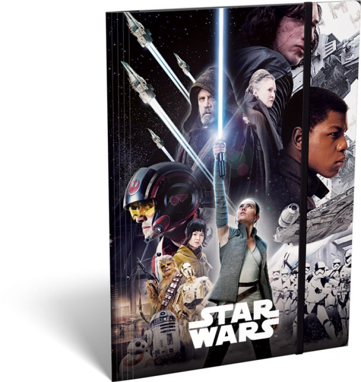 Gumis mappa A/4, Star Wars 8, The Last Jedi