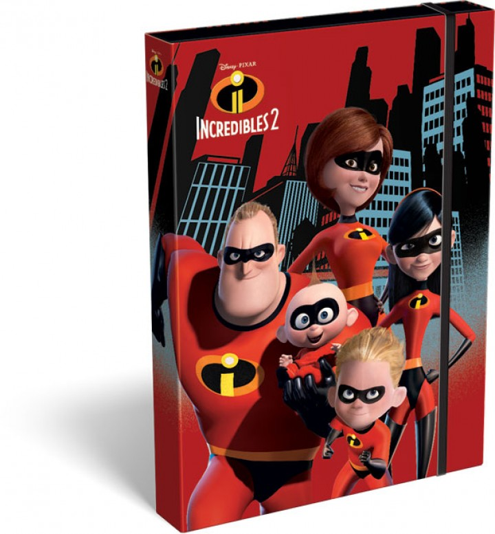 Füzetbox A/4, The Incredibles 2, Family