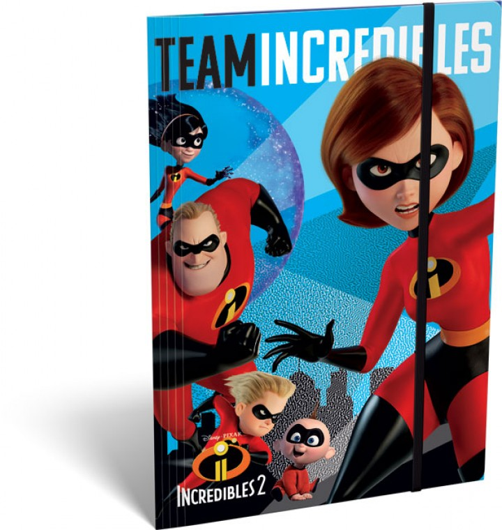 Gumis mappa A/5, The Incredibles 2, Team