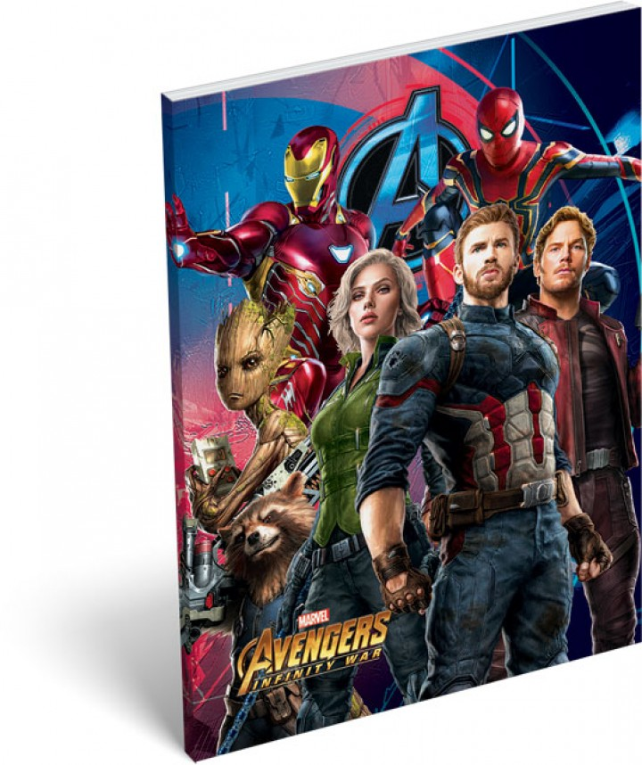 Notesz papírfedeles A/7, Avengers, Infinity War Fight