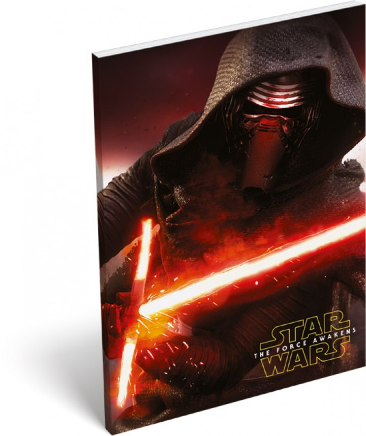 Papírfedeles notesz A7, Star Wars 7, Darkside