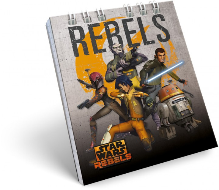 Spirál notesz A7, Star Wars Rebels, Gray