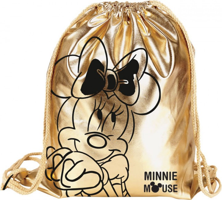 Tornazsák prémium, Minnie Fashion, Gold