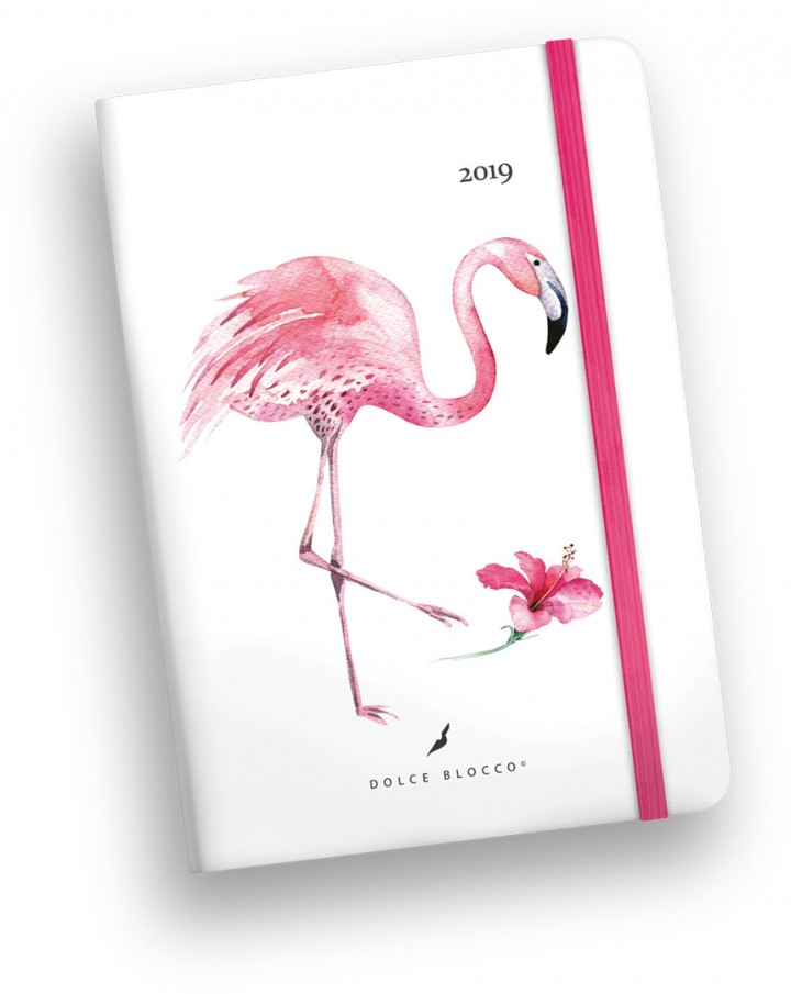 Secret Calendar B6 , Dolce Blocco, Fancy Flamingo