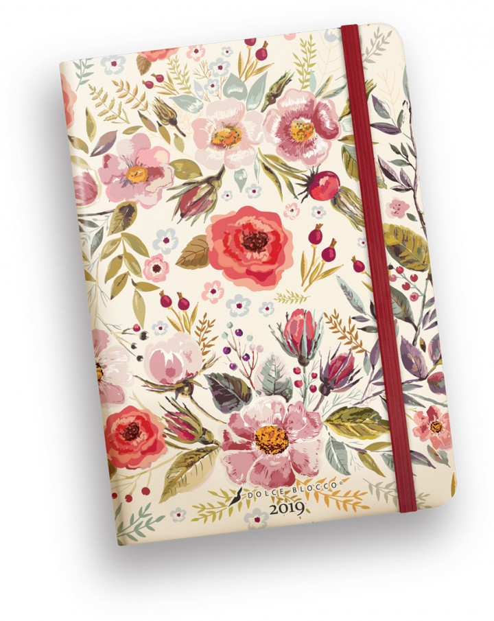Secret Calendar B6 , Dolce Blocco, Country Flowers