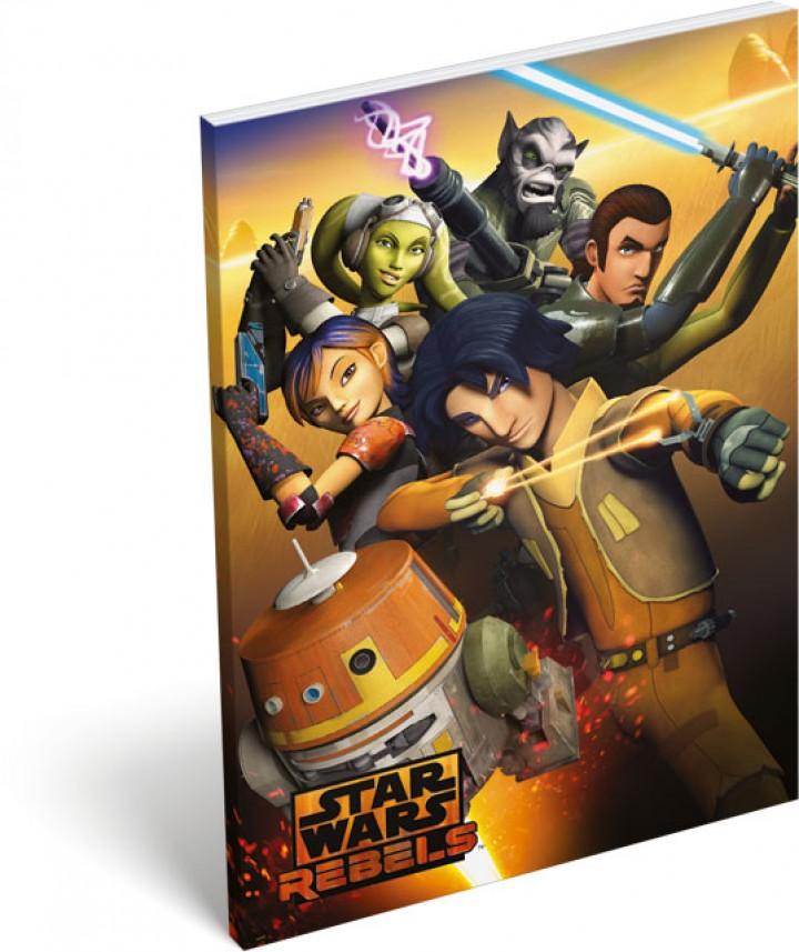 Papírfedeles notesz A6, Star Wars Rebels, Chopper