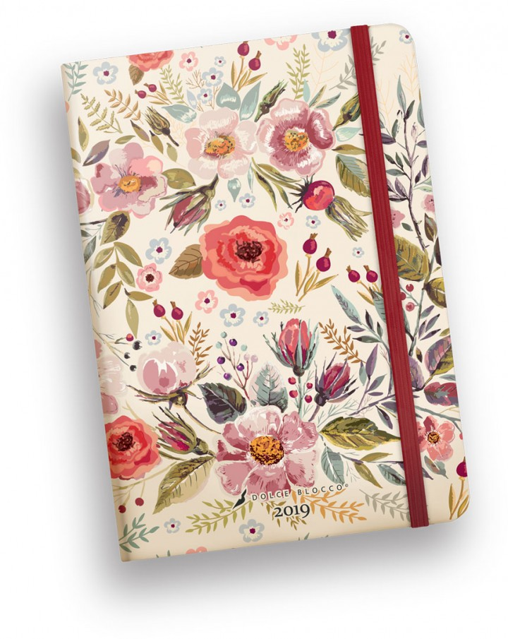 Secret Diary B6, Dolce Blocco, Country Flowers