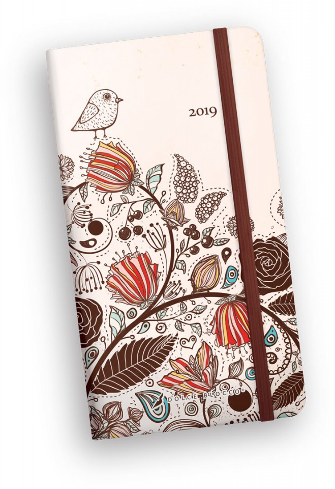 Secret Pocket Planner, Dolce Blocco, Birdy II.